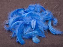 Piórka w torebce - Niebieski [Komplet 10szt.]