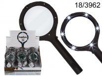 Lupa-szkło powiększające z diodami LED