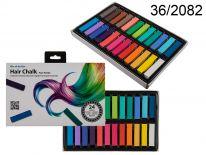 Kreda do kolorowania włosów - 24 kolory