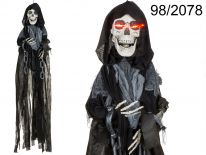 Halloweenowy duch z czaszką i efektami