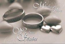 Karnet ślubny duży