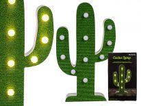Lampka kaktus LED
