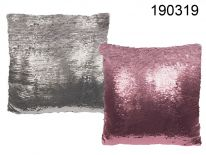 Dekoracyjna poduszka cekiny