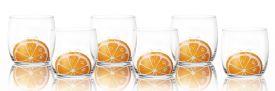 Szklanka do drinków soków 260ml Pomarańcza
