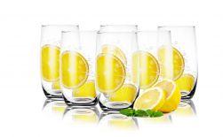 Szklanki do drinków soków 320ml Cytryna