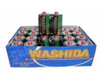 Bateria WASHIDA 1.5v R20 size D