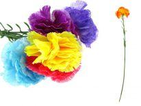 Kwiat GOŹDZIK 1 kwiat łodyga