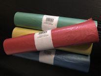 Worki na śmieci LDPE 35L,60L,120L kolor