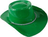 Party czapka 'Kapelusz' 52-56cm kowbojski plast. mix wzór / kol. KA-677TO