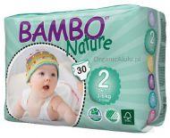 BAMBO NATURE Ekologiczne Pieluszki Jednorazowe Mini