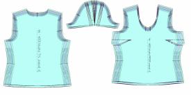 Stopniowanie szablonów odzieżowych