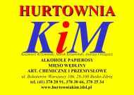 Hurtownia KIM K. Krzemiński, M. Krzemiński, A. Chrząszcz S.J.