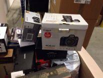 Aparaty fotograficzne ze zwrotów konsumenckich. Nikon, Olympus, Sony