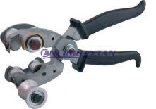Przyrząd do usuwania powłoki zewnętrznej poprzez nacięcia wzdłużne i poprzeczne Z-45