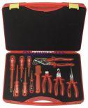 Zestaw walizkowy narzędzi izolowanych 251112, 11 części