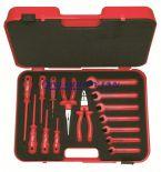 Zestaw walizkowy narzędzi izolowanych 251501, 15 części