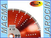 Tarcze diamentowe K12 350 z otworem 20 lub 25,4 13mm tarcze granit tarcza segmentowa do Stihl Makita Dolmar Husqvarna Cedima wentylowana otwory wentylacyjne TS Sthil