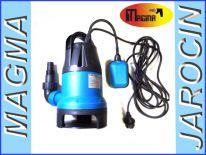 Pompa do wody brudnej z pływakiem 1600W 13500L/H