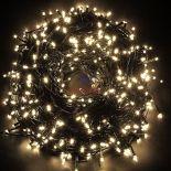 LAMPKI CHOINKOWE 300 LED ŁĄCZENIE BIAŁE CIEPŁE #4