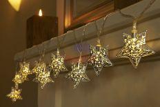 LAMPKI CHOINKOWE Marokańskie 20 LED GWIAZDKI #11