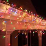 SOPLE CHOINKOWE 500 LED LAMPKI 21m MULTIKOLOR #9