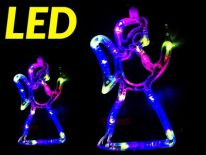 ANIOŁEK OZDOBA NA CHOINKĘ LED LAMPKI CHOINKOWE S14