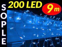SOPLE CHOINKOWE 200 LED LAMPKI NIEBIESKIE 9m #7