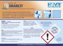 ORANCIT - do mycia urządzeń kuchennych - zapach cytrusów
