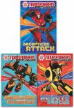 Transformers Robots In Disguise Collection John Sazakli 3 Books Set As Seen On Tv