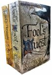 Robin Hobb Fitz And The Fool Collection 2 Books Set Fools Assassin Fools Quest