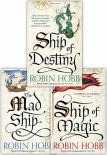 Robin Hobb The Liveship Traders Trilogy Collection 3 Books Set