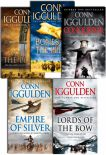 Conqueror Series Collection 5 Books Set By Conn Iggulden Wolf Of The Plains  Lords Of The Bow Bones Of The Hill Empire Of Silver Conqueror