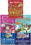 David Walliams Series 2  5 Books Collection Set Midnight Gang Worlds Worst Children Grandpas Great Escape Awful Auntie Demon Dentist