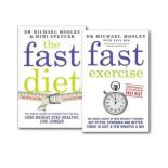 The Fast Diet And Fast Exercise 2 Books Collection Set
