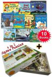Julia Donaldson Collection 10 Books Set Paul Lamond The Gruffalo 4 In 1 Puzzle