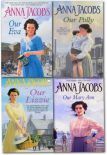 Anna Jacobs Collection 4 Books Set Our Lizzie Our Eva Our Polly Our Mary Ann
