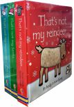 Thats Not My Christmas Collection 3 Books Set By Fiona Watt Touchyfeely Board Books Thats Not My Santa Thats Not My Snowman Reindeer