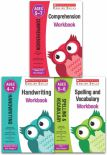 Scholastic English Skills Workbook Age 47 Key Stage 1 Handwriting Spelling And Vocabulary Comprehension Pack Of 3