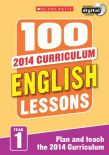100 English Lessons Year 1  2014 National Curriculum Plan And Teach Study Guide