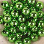 Koraliki Perełki 8mm 10g Kolor Zielony Multi [ Zestaw - 50 Kompletów]