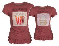 Bluzka dziecięca - magiczne cekiny dwustronne