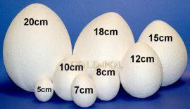 Jaja jajka styropianowe -miękkie - szpilki idealnie się wbijają!!!