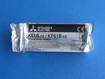 Papier K61B-CE do videoprinterów USG videoprintera Mitsubishi