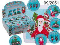 Magiczny ręczniczek - Mikołaj i renifery