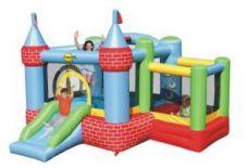 Zabawka dmuchana Zamek z basenem na piłeczki