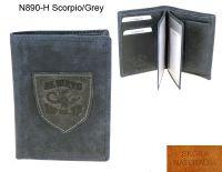 Portfel Męski skórzany N890-H Scorpio/Blue
