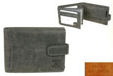 Portfel Męski skórzany N992L-H Grey