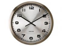 Zegar ścienny Maxie steel by Karlsson