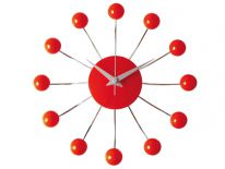 Zegar ścienny Spider red by Karlsson