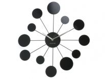 Zegar ścienny Water Lily black by Karlsson